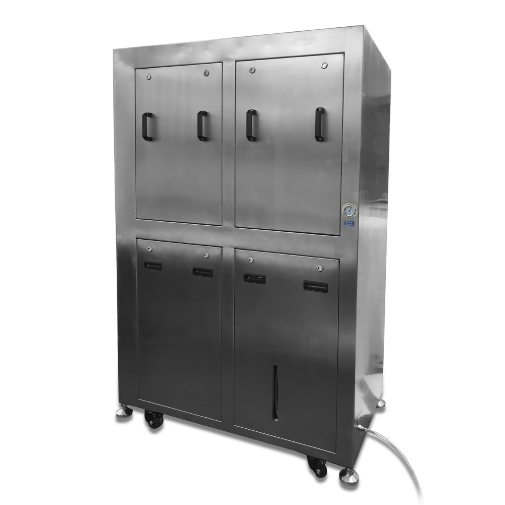 JGH006L聚广恒双槽气动钢网清洗机