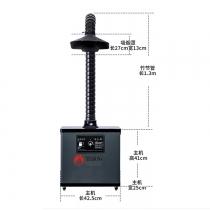 SPF-1001手工焊锡烟雾净化器