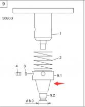AGFPN8530 富士 XP243 8.0G吸嘴 FUJI NOZZLE SMT贴片机吸咀
