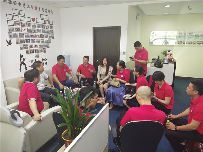 东莞市江西赣州商会莅临参观美高梅集团登录网址公司
